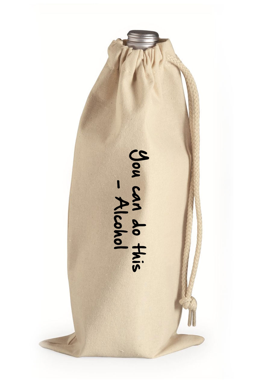 Alcohol Canvas Wine Bag Allure